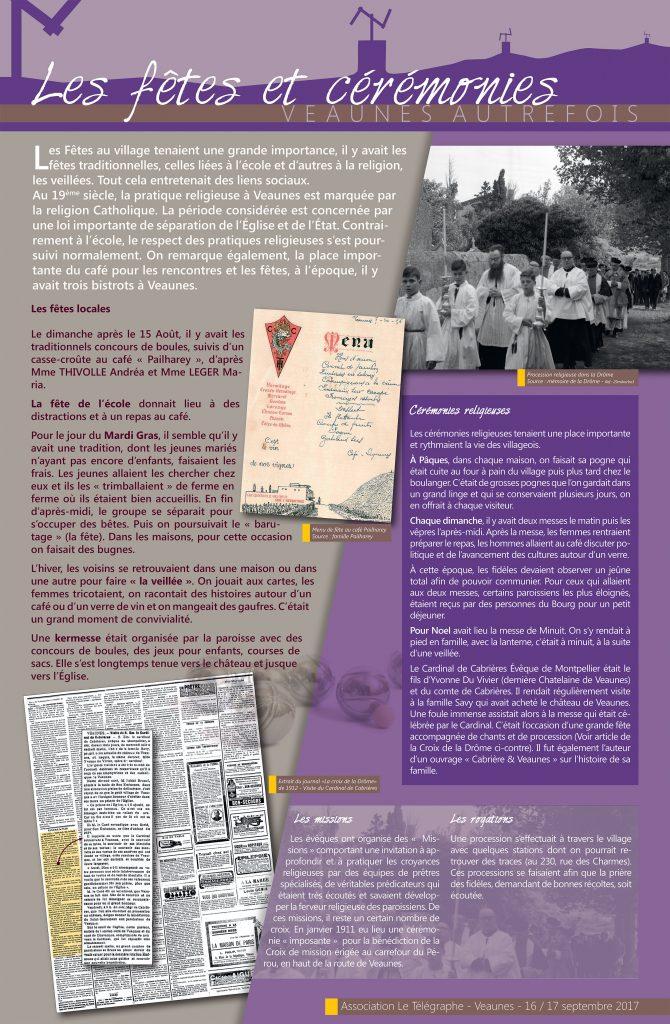 Composition graphique Bache PVC exposition patrimoniale